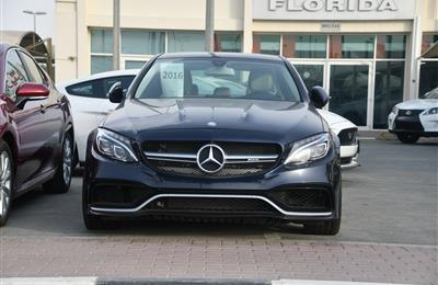 MERCEDES BENZ C300 MODEL 2016 - BLUE - 15.000 MILEAGE - V4...