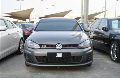 VOLKSWAGEN GTI MODEL 2016 - GREY - 160,000 KM - V4 - GCC