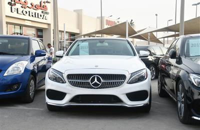 MERCEDES BENZ C300 MODEL 2015 - WHITE - 20,000 MILEAGE -...