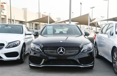 MERCEDES BENZ C300 MODEL 2015 - BLACK - 30000 MILEAGE - V4...