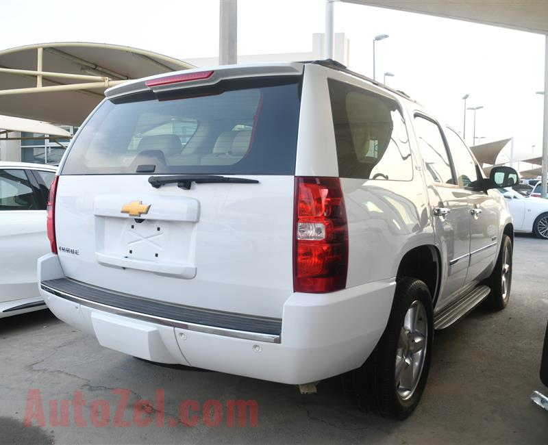 CHEVROLET TAHOE MODEL 2012 - WHITE - 150,000 KM - V8 - GCC