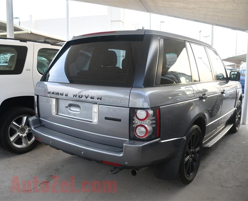 RANGE ROVER VOGUE SUPERCHARGED MODEL 2011 - 136,000 KM - V8 - GCC