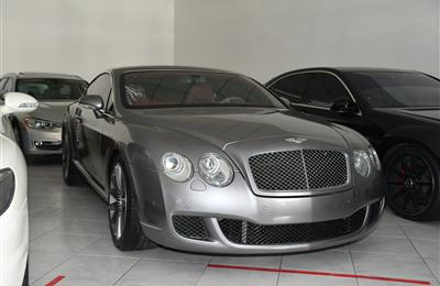 BENTLEY- 2008- GRAY- 123 000 KM- GCC SPECS