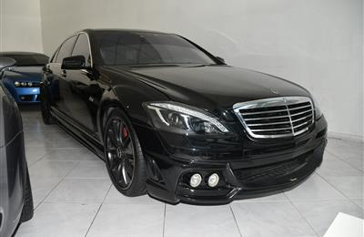 MERCEDES-BENZ S600- 2006- BLACK- 110 000 KM- GCC SPECS