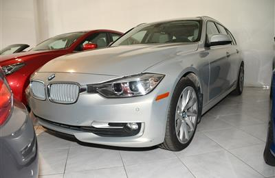 BMW 328- 2014- GRAY- 51 000 KM- GCC SPECS