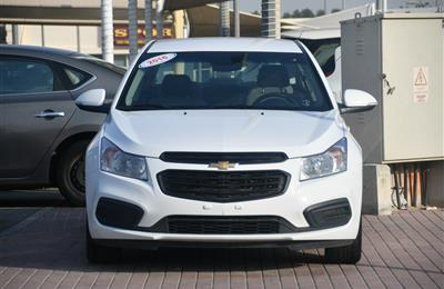 CHEVROLET CRUZE LS- 2016- WHITE- 66 000 KM- OPTION 3