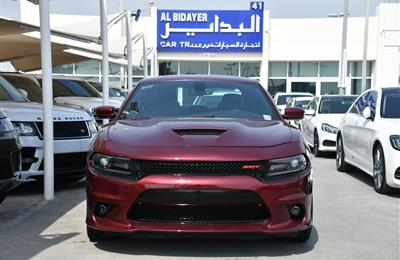 DODGE CHARGER RT- 2017- BURGUNDY- 26 000 KM- AMERICAN...
