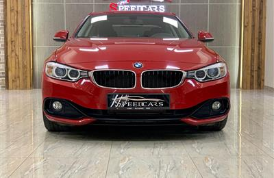 BMW 428i- 2017- RED- 79 000 KM- GCC