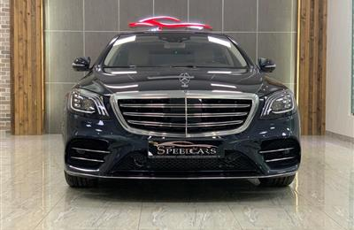 BRAND NEW MERCEDES-BENZ S560- 2018- DARKBLUE- ZERO KM- GCC