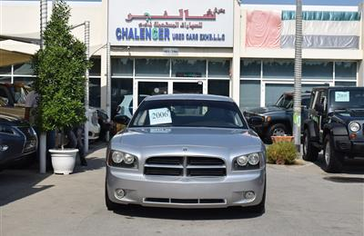 DODGE CHARGER- 2007- SILVER- 210 000 KM- GCC