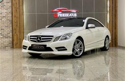 MERCEDES-BENZ E300 COUPE- 2013- ORIGINAL PAINT