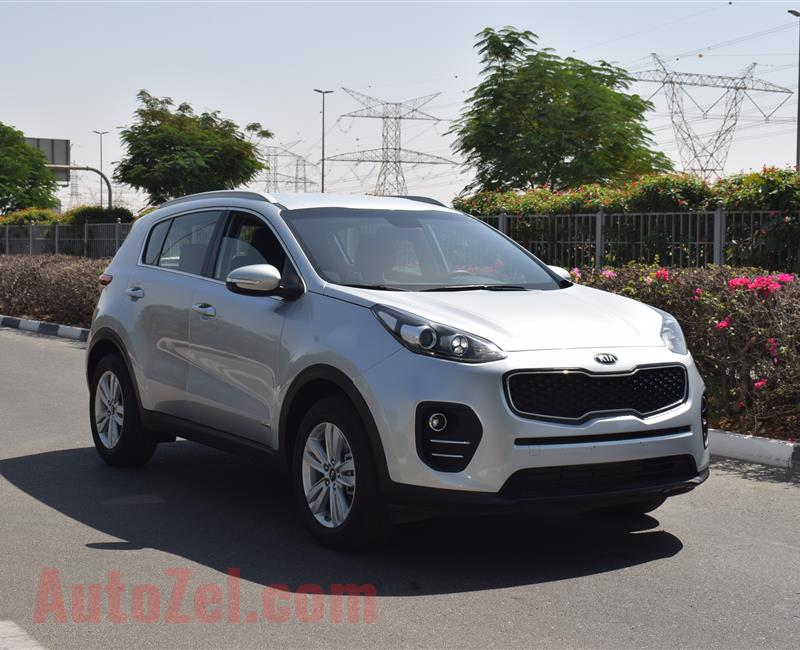 KIA SPORTAGE 2.0- 2018- SILVER- 62 000 KM- GCC SPECS- CALL FOR THE PRICE