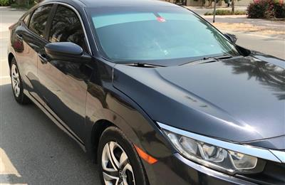 Family used Honda civic 2017