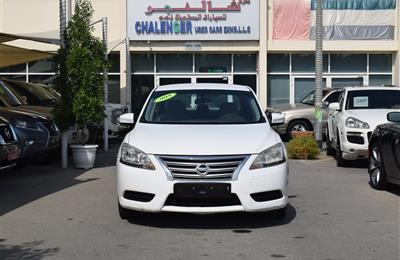 NISSAN SENTRA- 2014- WHITE- 231 000 KM- CALL FOR THE PRICE