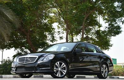 MERCEDES E350 - 2013 - V6 - AMERICAN SPECS - BANK LOAN 0...