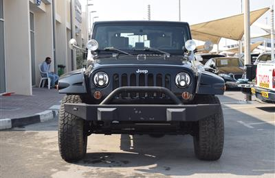 JEEP WRANGLER- 2010- BLACK- GCC SPECS- MANUAL TRANSMISSION