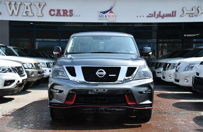 NISSAN PATROL XE V6 UPGRADED- NISMO- 2019- GRAY- GCC SPECS