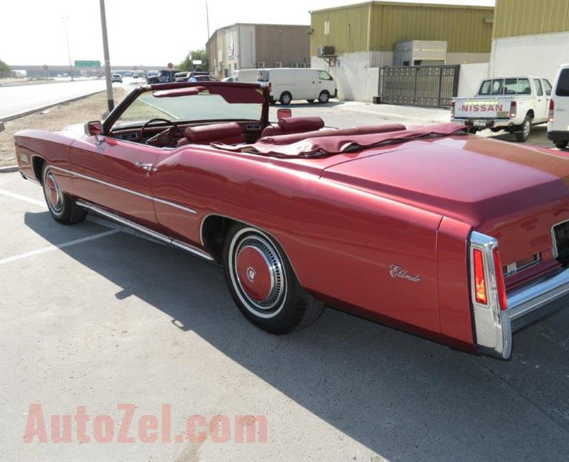 1976 Cadillac Convertible - Wife says: Sell it !