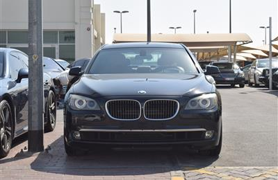 BMW 750Li- 2010- BLACK- 141 000 KM- GCC SPECS