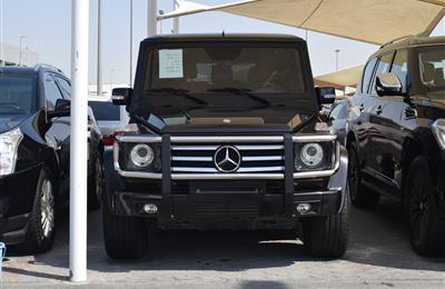 MERCEDES-BENZ G55- 2012- BLACK- 120 000 KM- GCC SPECS