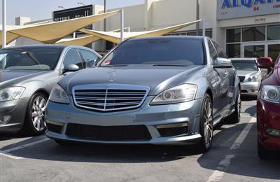 MERCEDES-BENZ S550 KIT S63- 2008- SILVER- AMERICAN SPECS