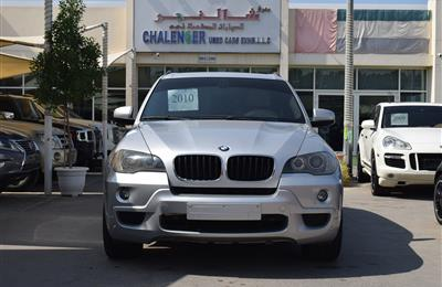 BMW X5- 2010- SILVER- 259 000 KM- GCC SPECS- CALL FOR THE...