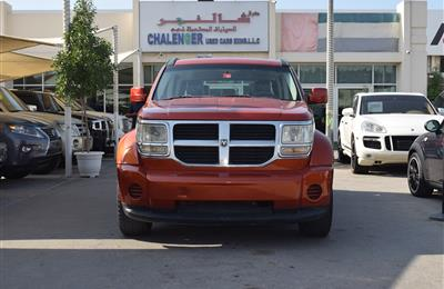 DODGE NITRO 4X4- 2007- ORANGE- 221 000 KM- GCC SPECS- CALL...
