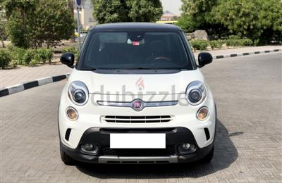 Lady driven 2015 FIAT 500L 1.4Turbocharged GCC Full...