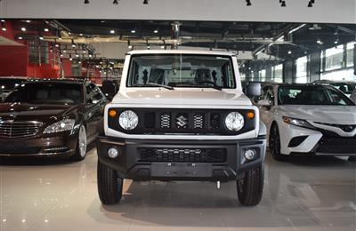 SUZUKI JIMNY- 2019- WHITE- GCC SPECS- MANUAL TRANSMISSION
