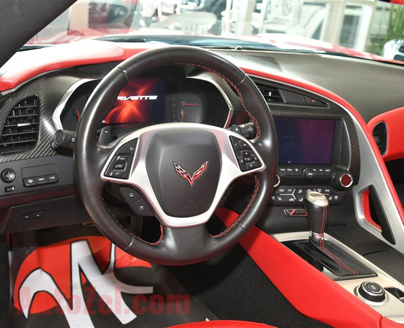 CHEVROLET CORVETTE- 2014- RED- 54 000 KM- GCC SPECS