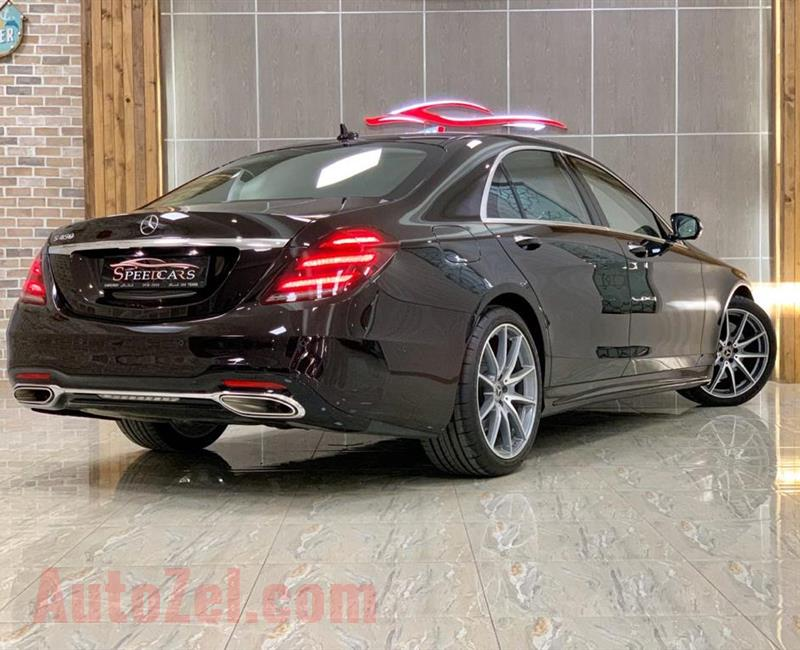 MERCEDES BENZ S450 / 2018 / BLACK / GCC