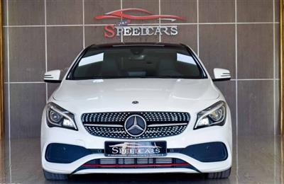 MERCEDES BENZ CLA250 AMG / WHITE / GCC/ 2018/ AED  127000 ...