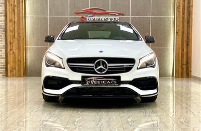 MERCEDES BENZ CLA 45 AMG / 2019 / WHITE / GCC /AED 249000/...