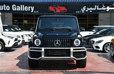 MERCEDES-BENZ G63- 2019- BLACK- 8 CYLINDER- CALL FOR THE...