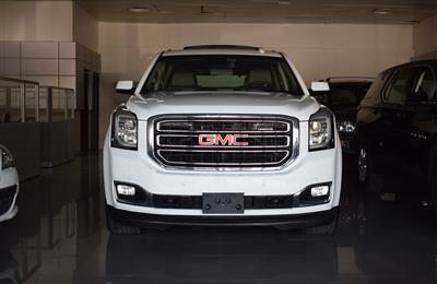 GMC YUKON- 2018- WHITE- 80 000 KM- GCC SPECS- CALL FOR THE...