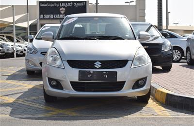 SUZUKI SWIFT- 2015- SILVER- 82 000 KM- GCC SPECS