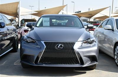 LEXUS IS350- 2014- GRAY- 35 000 MILES- AMERICAN SPECS