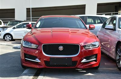 JAGUAR XE- 2016- RED- 13 000 KM- GCC SPECS