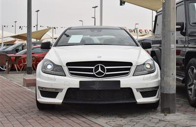 MERCEDES-BENZ C250 KIT 63- 2013- WHITE- 221 000 KM- GCC...