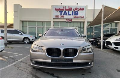 BMW 730Li- 2013- GOLD- 169 000 KM- GCC SPECS