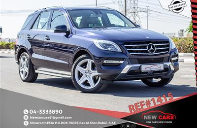 MERCEDES-BENZ ML400- 2015- BLUE- 41 258 KM- GCC SPECS
