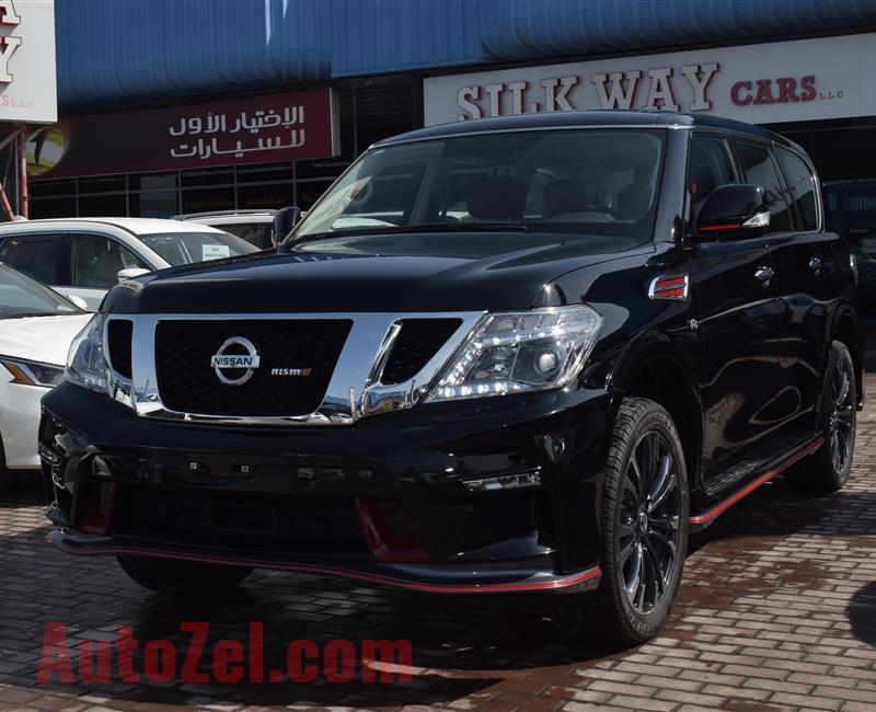 BRAND NEW NISSAN PATROL XE UPGRADED NISMO- 2019- BLACK- ZERO KM- GCC