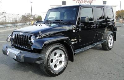 Damaged 2014 Jeep Wrangler Unlimited Sahara