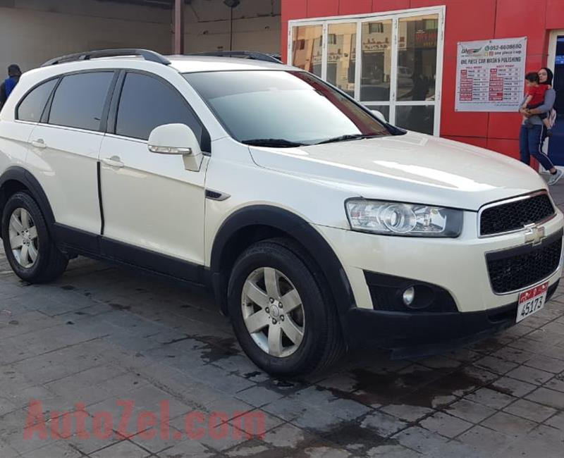 Chevrolet Captiva model 2012 Perfect inside and outside the screen Android new tires