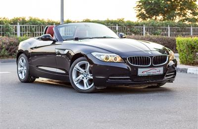 BMW Z4- 2010- BLACK- 124 459 KM- GCC SPECS