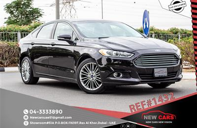 FORD FUSION- 2014- BLACK- 1278 369 KM-  GCC SPECS