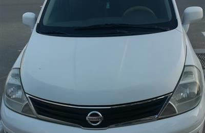 NISSAN TIIDA 1.8 SEDAN, GCC SPEC, WHITE CLR, 2011 MODEL,...