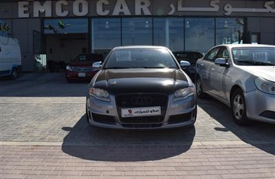 AUDI S4- 2006- BLACK- 93 000 KM- GCC