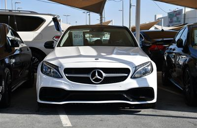 MERCEDES-BENZ C63- 2016- WHITE- 103 000 MILES- AMERICAN...