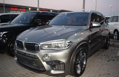 BMW X5 MPOWER- 2015- GREY- 120 000 KM- GCC